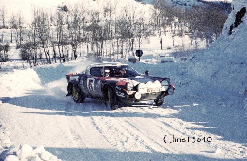 ford escort rs #5 monte carlo rally 1978 calendar